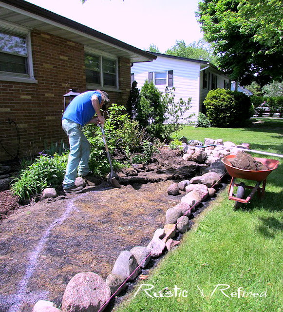 How to slow water down and allow good drainage way from your home