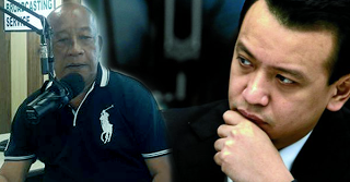 Radio Host to Trillanes: Not unless you show the burden of proof, the people will catch you and hang in the bridge of sin