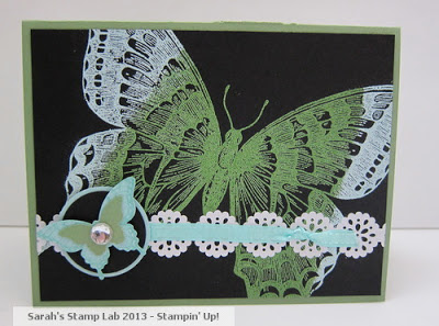 Sarah's Stamp Lab: Swallowtail Case with a Twist!