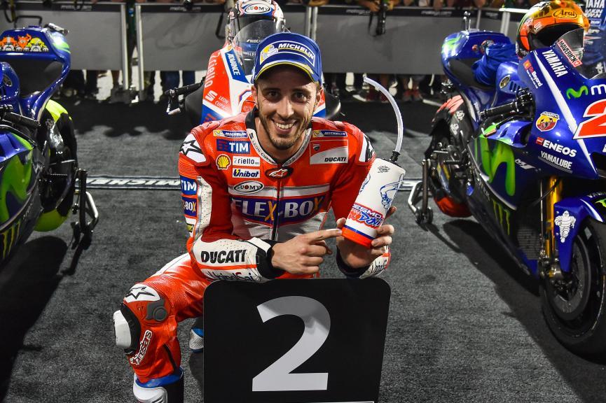 MotoGP 2017 Loasil Qatar Podium