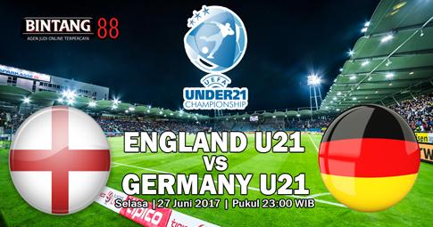 Prediksi Jerman U21 vs Inggris U21 27 Juni 2017