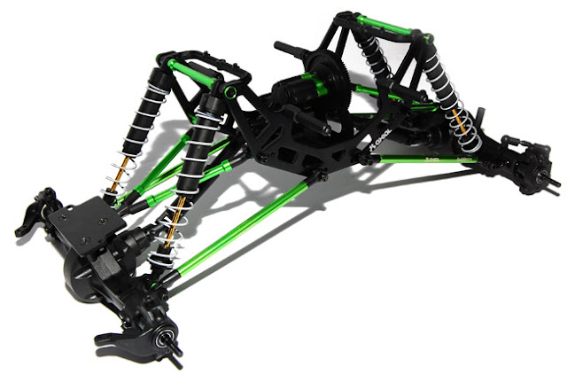 Axial AX10 Scorpion chassis
