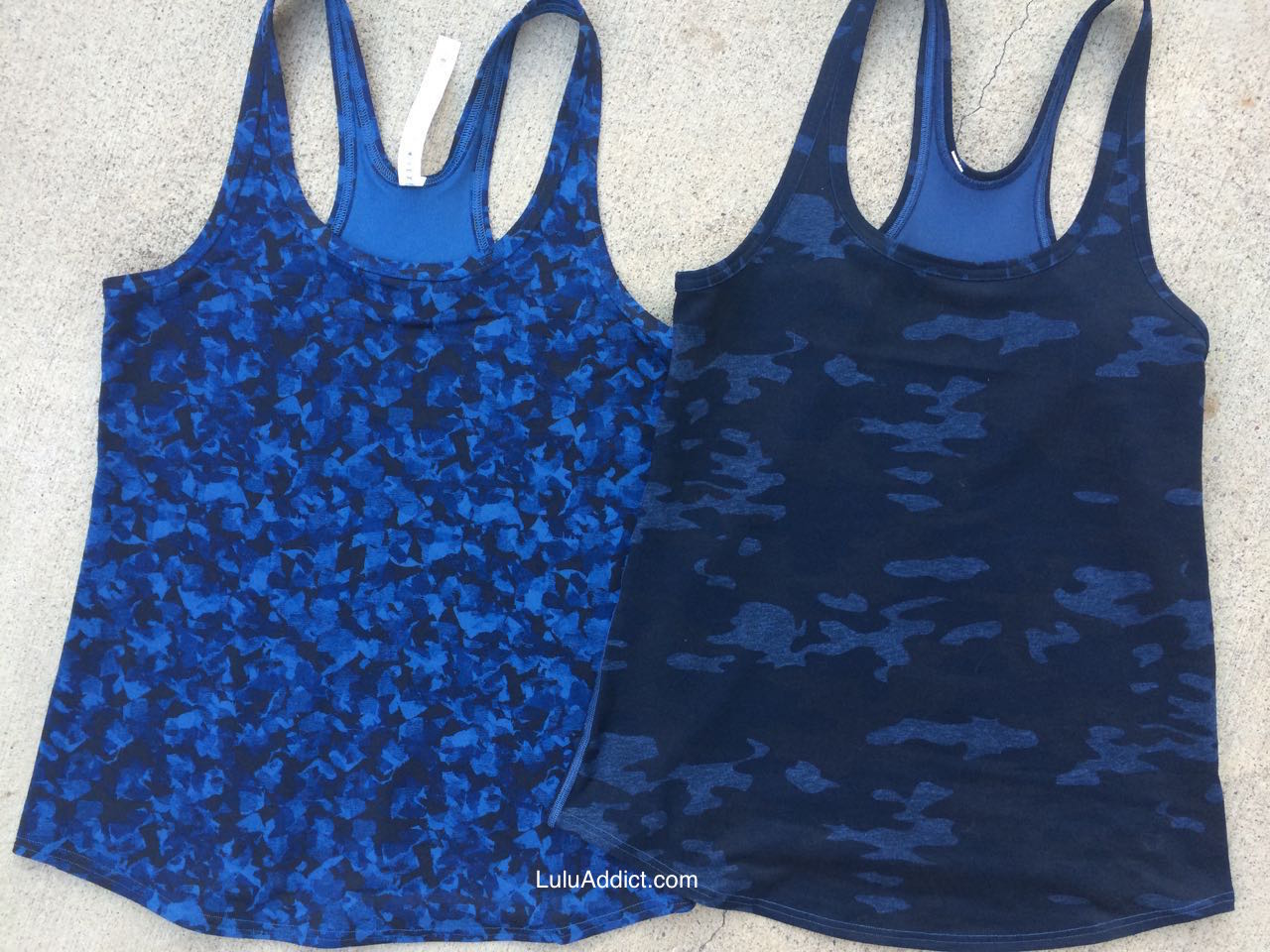 lululemon studio racerback mystic jungle