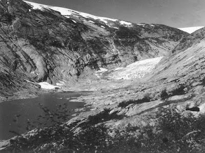 glaciar Nigards en 1976