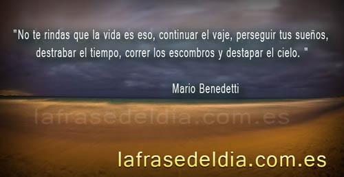 Citas célebres Mario Benedetti