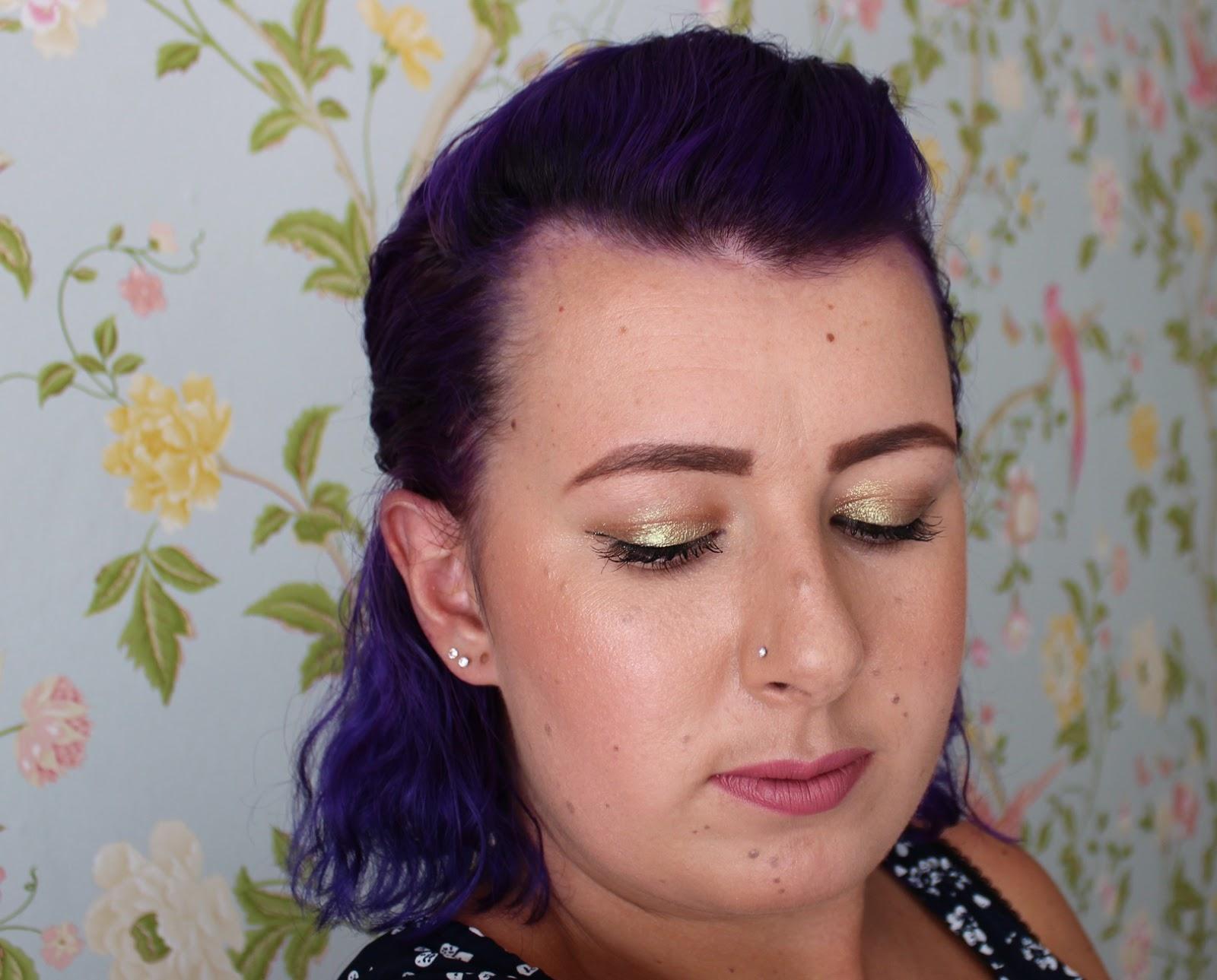 Urban Decay Moondust Eyeshadow review swatch