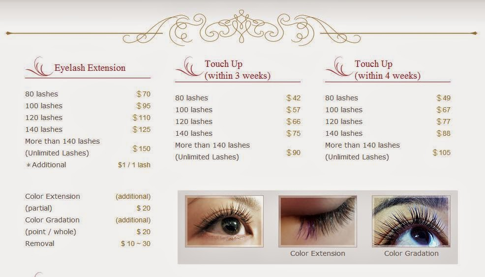 Lash extensions price Uk