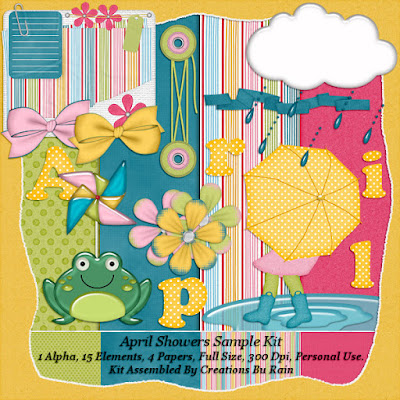 """April Showers""  Full Size Kit And A free Sample 04/11/2018"