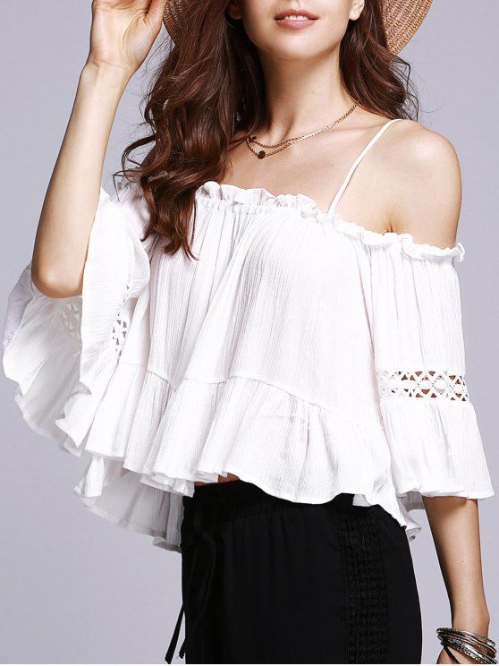 zaful anniversary, zaful, off the shoulder, white look, cold shoulder