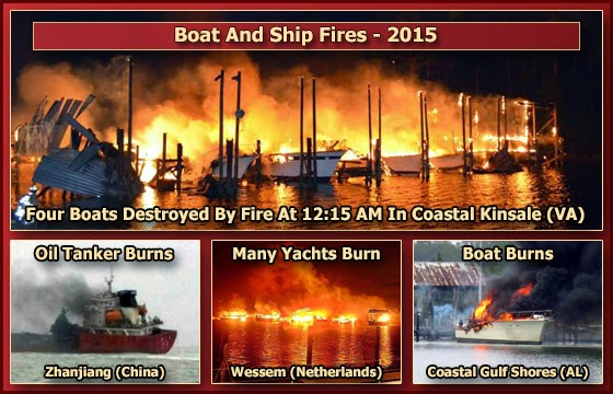 Jumping Jack Flash Hypothesis: It's A Gas Gas Gas: 2015 - Boat Fires