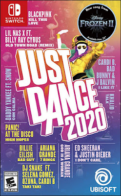 Just Dance 2020 Game Cover Nintendo Switch