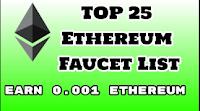 Список ETHERIUM кранов с моментальной выплатой на FaucetHub