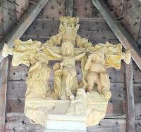 patrimoine croix sculptée xvè bassignac lehaut