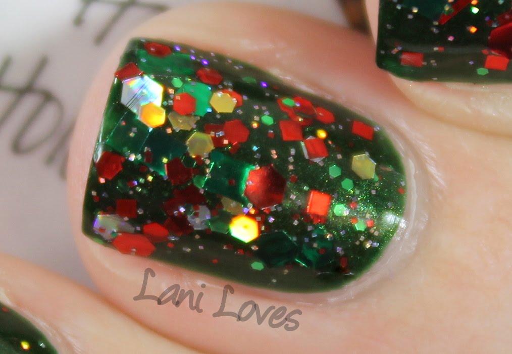 Lynnderella Happy HoloDaze! nail polish swatch
