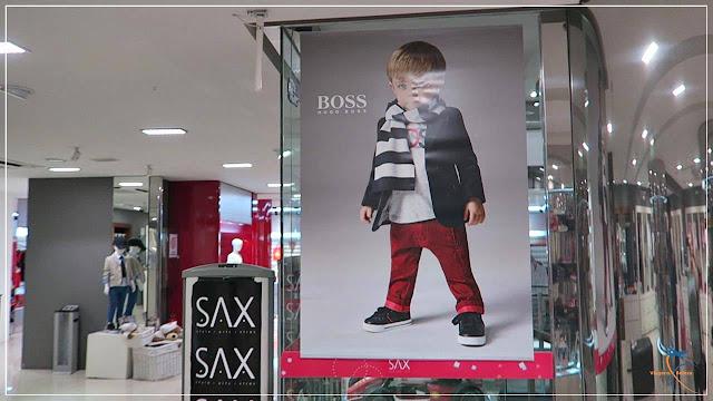 Espaço infantil Hugo Boss