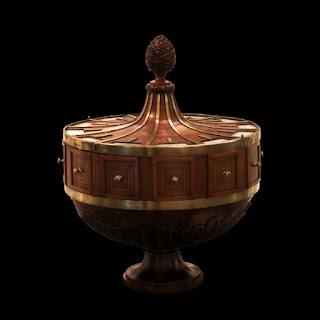 Une urne du 18e siècle