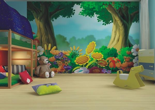 Vendo foto murales fotos en varios soportes pvc for Murales infantiles para preescolar