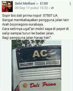 Netizen Posting Bus Diduga Ugal-Ugalan, Kapolres Perintahkan Kasat Lantas Lakukan Tindakan