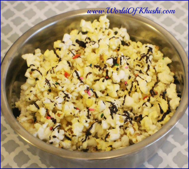 KhushiWorld_ChocolatePopCornRecipe