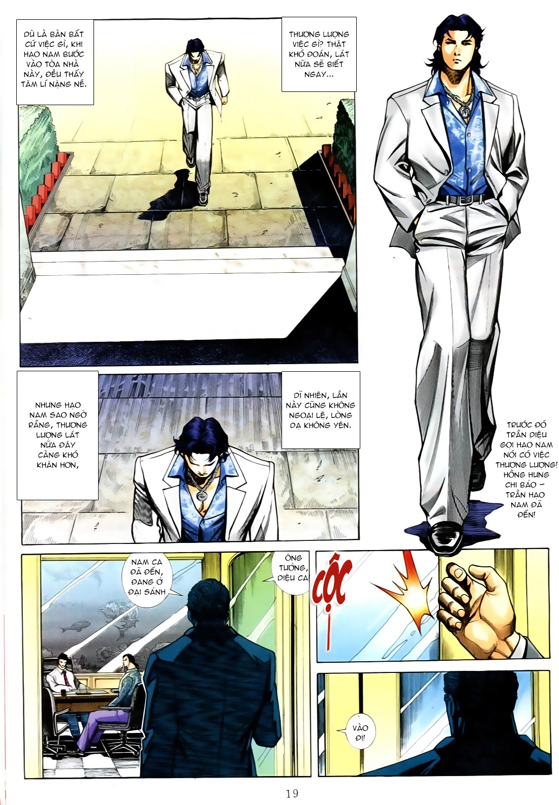 Người Trong Giang Hồ chapter 556: làm khó nam đẹp trai trang 13