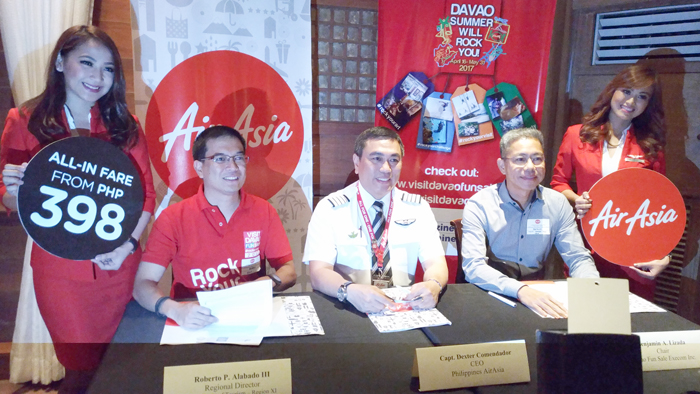 AirAsia new routes from Davao launch