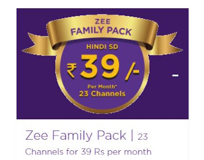 zee family pack 39 rs