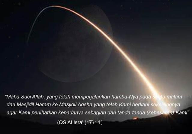 Hikmah dari Peristiwa Isra' Mi'raj
