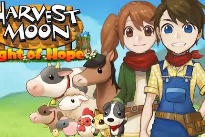 Game PS4 Harvest Moon:Light of Hope Telah Resmi Dirilis Di Smartphone