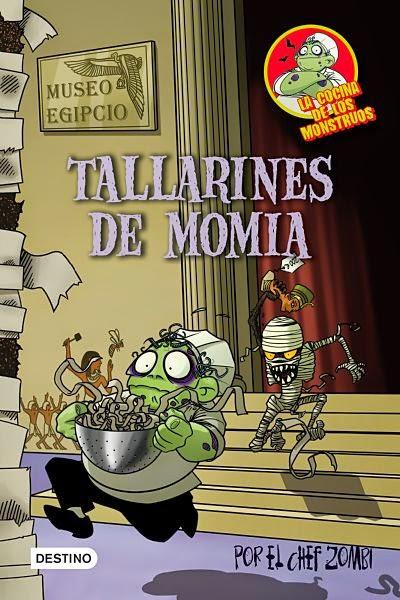 Tallarines de momia (La cocina de los monstruos 2)