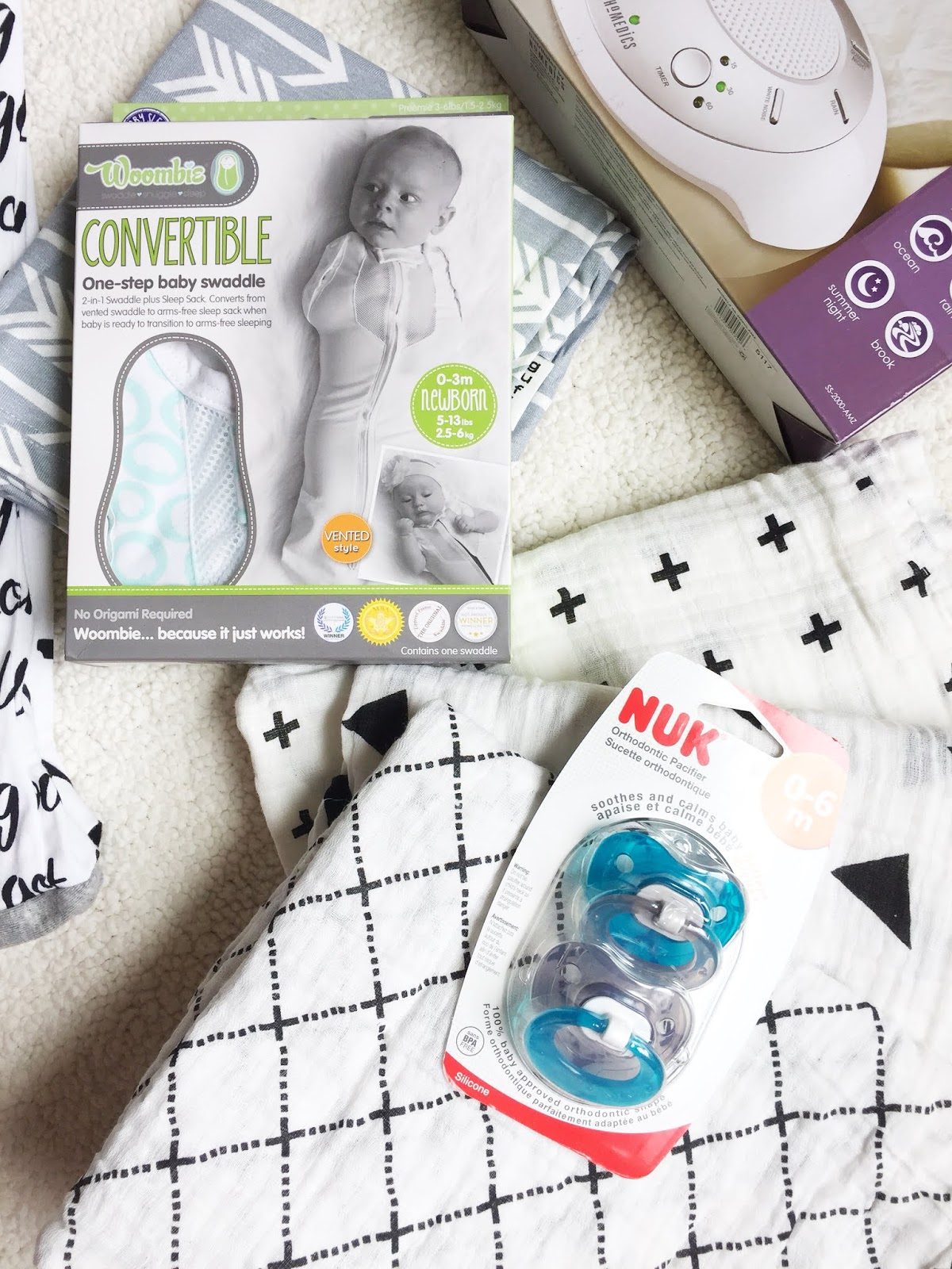 Must Have Baby Items to Get Baby to Sleep