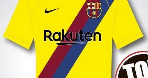 Maglie Calcio Barcellona 2019 2020 Seconda predizione
