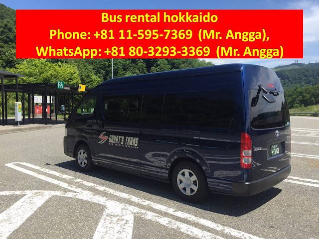 Hokkaido charter bus
