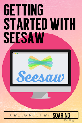 Learn how to get your students started with Seesaw! Lots of helpful tips, tricks, and activities!