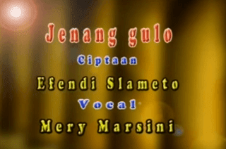 Lirik Lagu Jenang Gulo