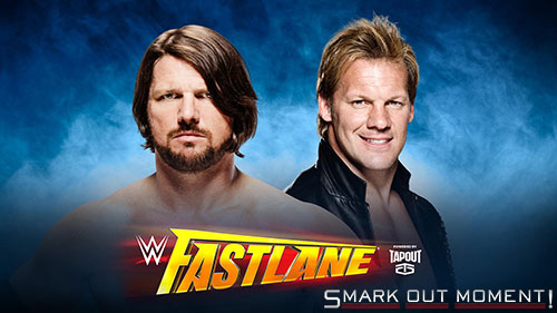 WWE Fastlane 2016 Chris Jericho vs AJ Styles