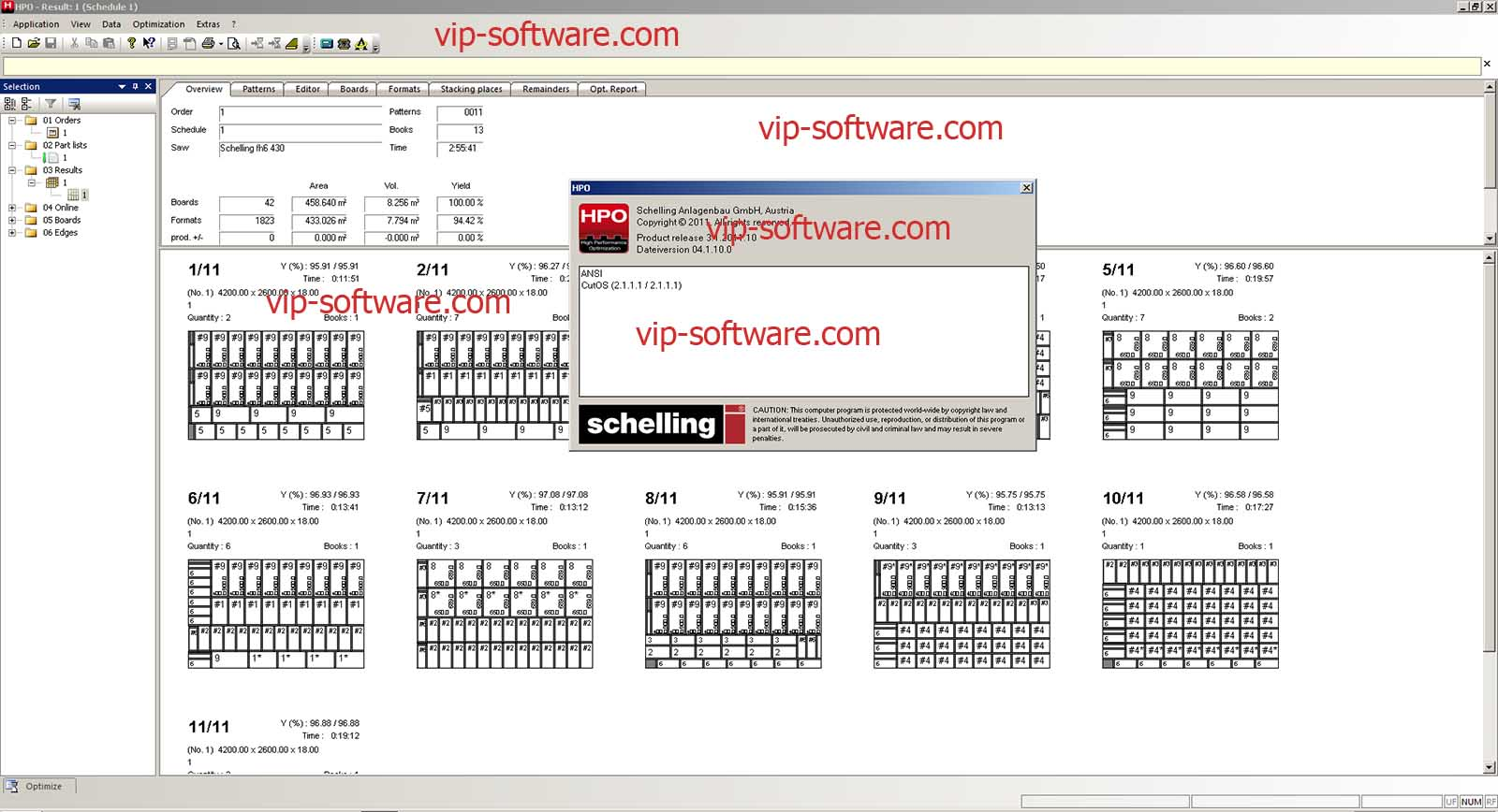 Vip Software Team: Schelling HPO Improvement Software