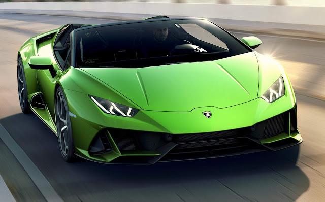 2020 Lamborghini Huracán Evo Spyder