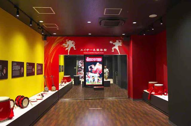 Eisa, dance, museum, Okinawa, studio