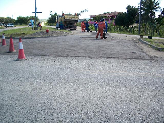 ROMARIA: Rodovia José Guedes recebe reparos em São Joaquim do Monte.
