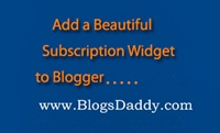 Add a Beautiful Subscription Box To Your Blogger Blog