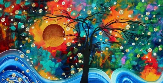 Pinturas Abstratas de Megan Aroon Duncanson