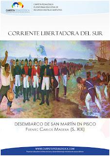 Desembarco de San Martín en Pisco