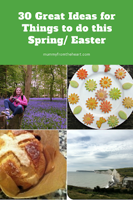 Spring and Easter activities pin