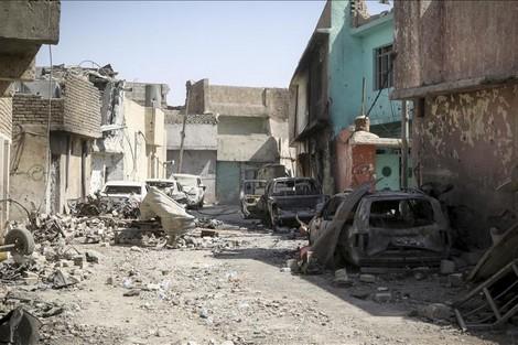 العراق .. جثث تعاني الحر وقطع الكهرباء بالموصل