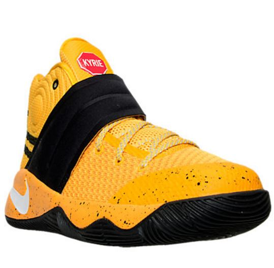 kyrie 2 kids yellow