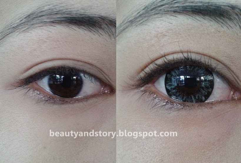 Beauty & Story: [REVIEW] Softlens Zuhra Grey