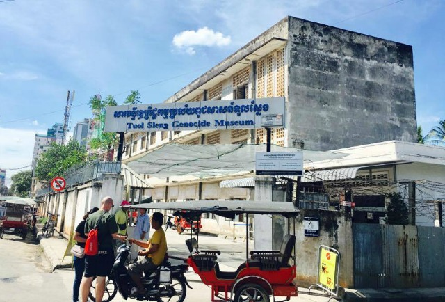 Tuol Sleng is just one of the famous attractions in Phnom Pehn Cambodia