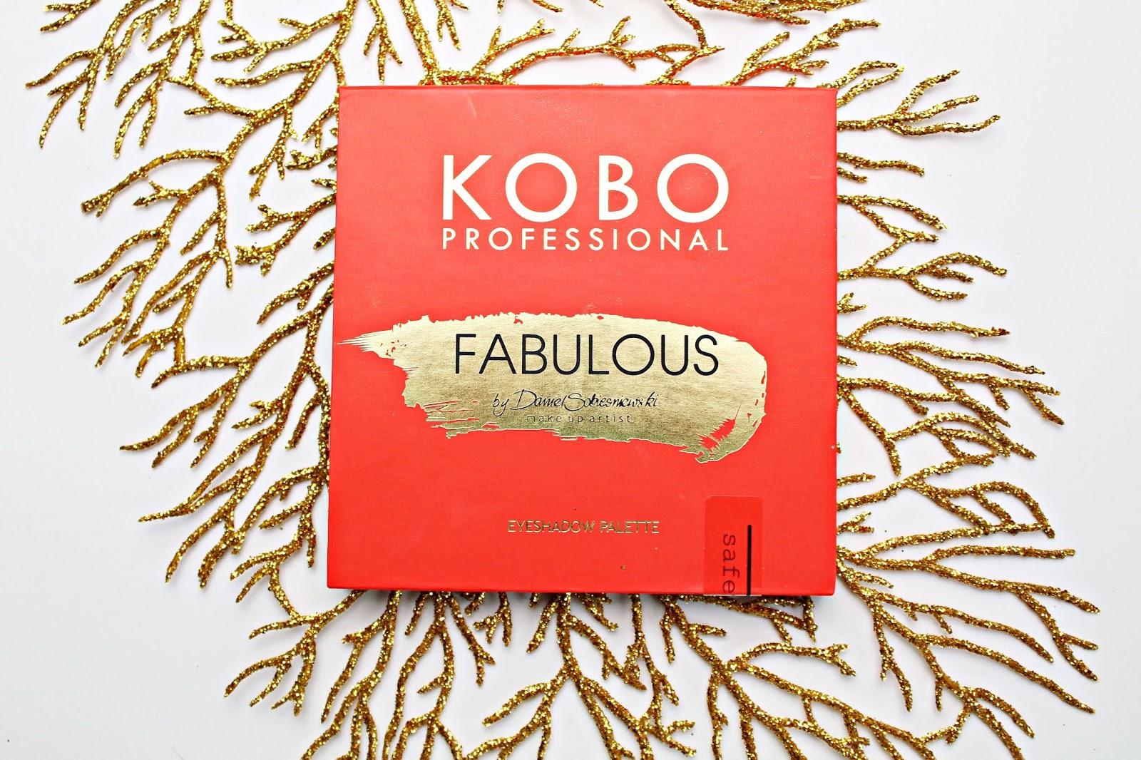 Kobo Professional FABULOUS by Daniel Sobieśniewski - paleta cieni z limitowanej edycji
