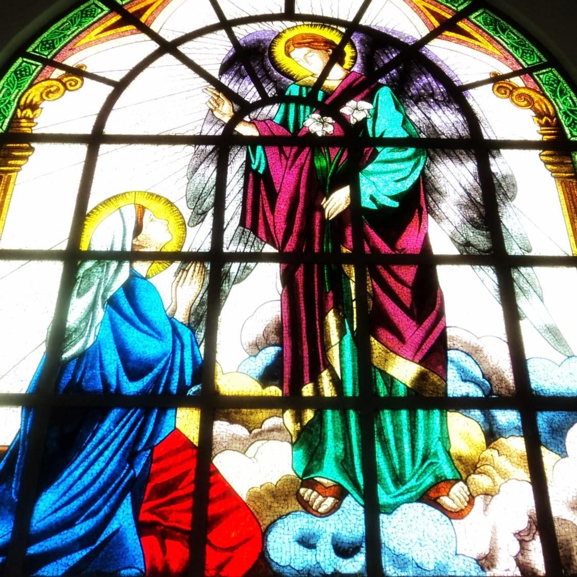 Maria e O Anjo Gabriel, Igreja Matriz de Içara