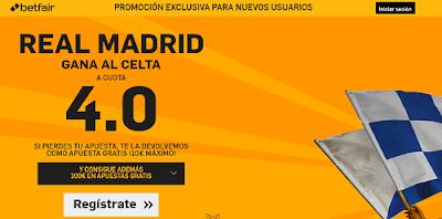 betfair Real Madrid gana Celta supercuota 4 Liga 5 marzo